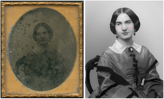 Ambrotype Restoration Before and After Testimonial