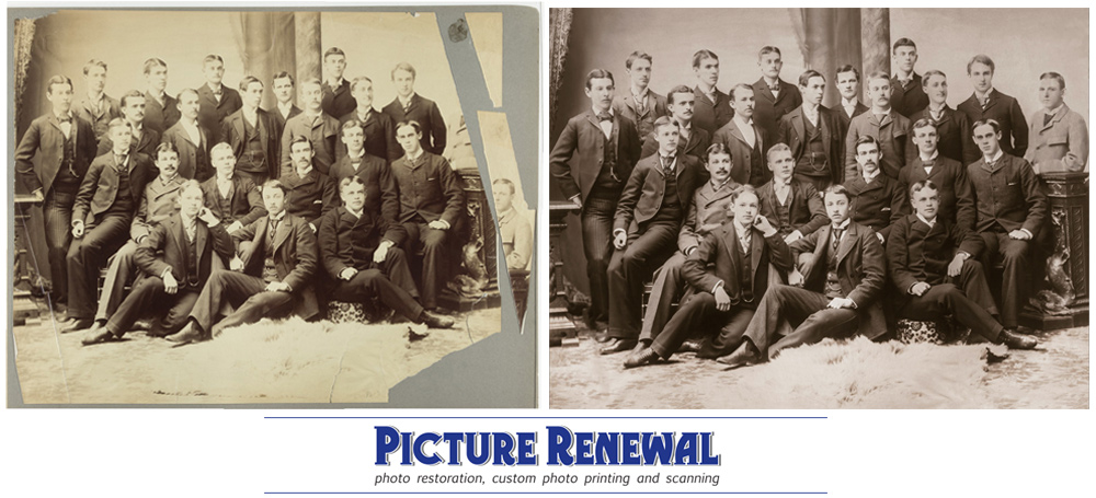 Class oc c.1919 Phi Beta Epsilon Photo Restoration